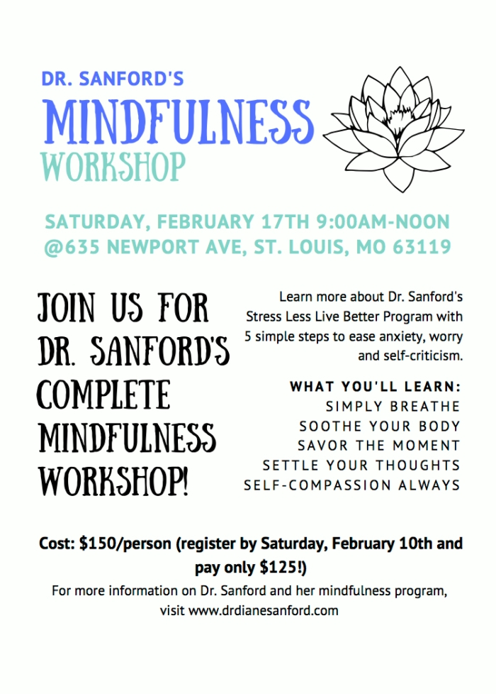 Mindfulness Workshop 2.17